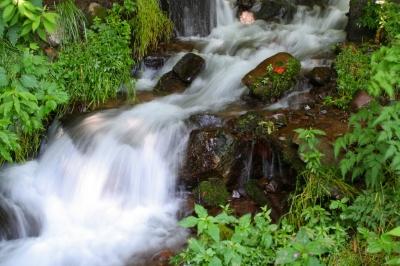 強清水の滝。