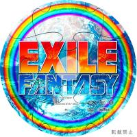 EXILE FANTASY DVD LABEL