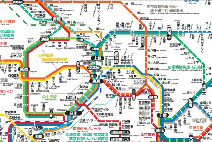Image Gallery Japan Jr Line - Japan jr map in chinese
