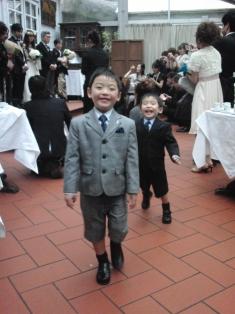 結婚式子供