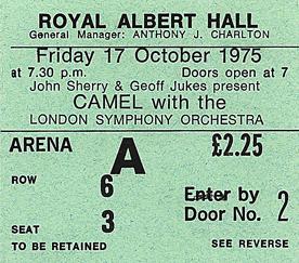 RAH Camel Ticket