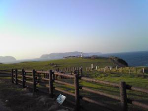 加部島の牧場
