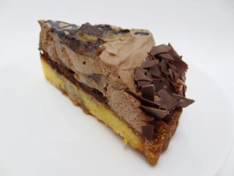 チョコバナナタルト1