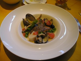 Bランチの魚料理