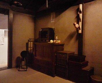 深川江戸資料館―重次さん一家の部屋