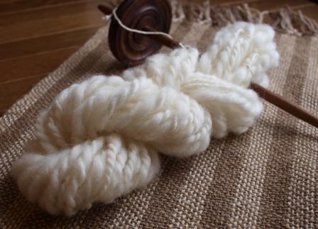 スピンドル ウール糸