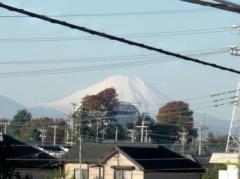 ここからも富士山