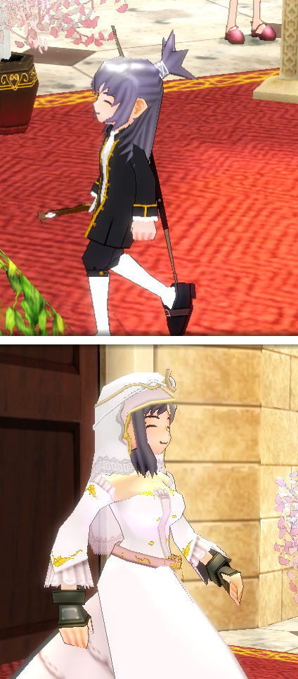 みにぃさんの結婚3