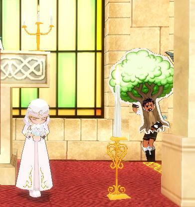マビあっちゃんの結婚式3