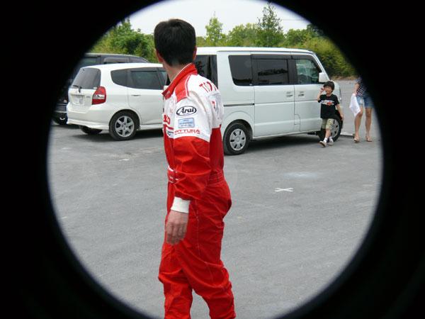 サーキット秋ヶ瀬・TeamYUJI練習走行