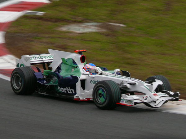 2008F1日本GP決勝ジェンソン・バトン