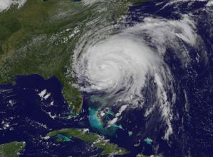 Typhoon Irene will hit United States