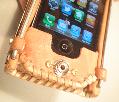 アンティーク iphoneカバー