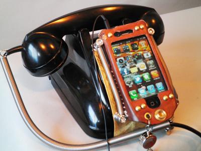 電話型スマートフォンケース