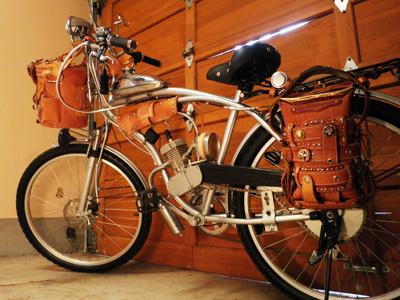 自転車みたいなバイク