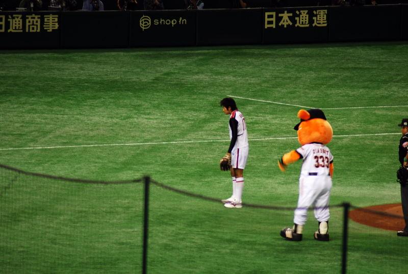 2008日本シリーズ第1戦2