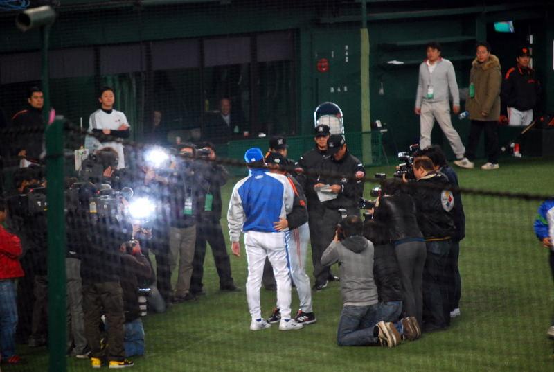 2008日本シリーズ第3戦1