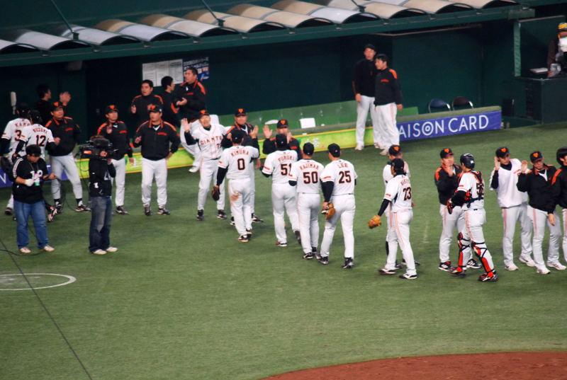 2008日本シリーズ第3戦8
