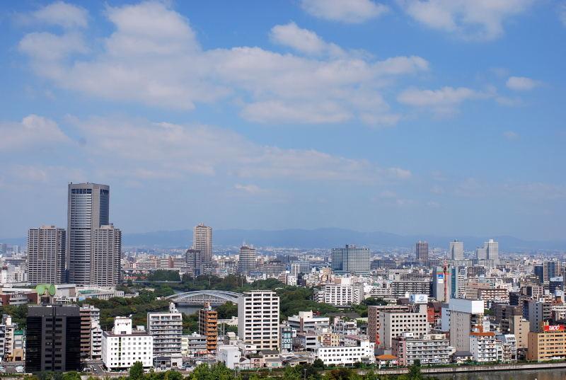 大阪城からの眺め1
