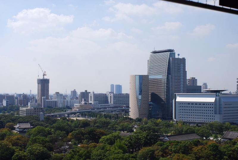 大阪城からの眺め4