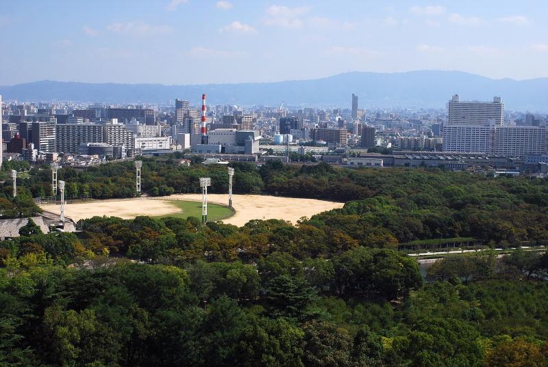 大阪城からの眺め5