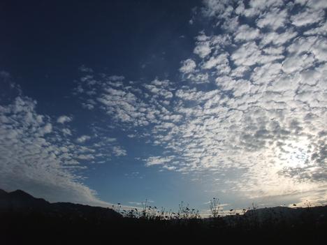 空がすごい