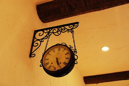 時計も素敵