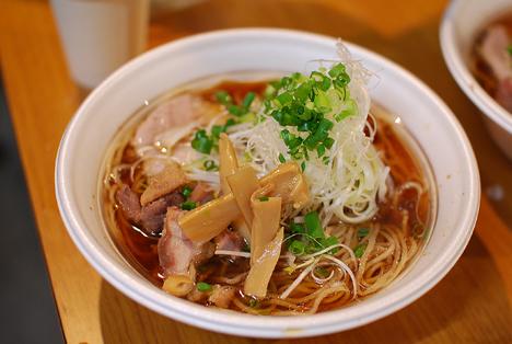 試作4(自作麺醤油