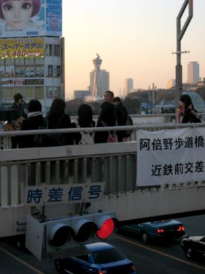 天王寺路上ライブ01