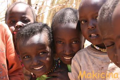 ケニア サンブール子供
