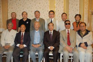 來自全美各地的保釣人士11年1月17日發起組織全美保釣大聯盟。(記者楊青/攝影)