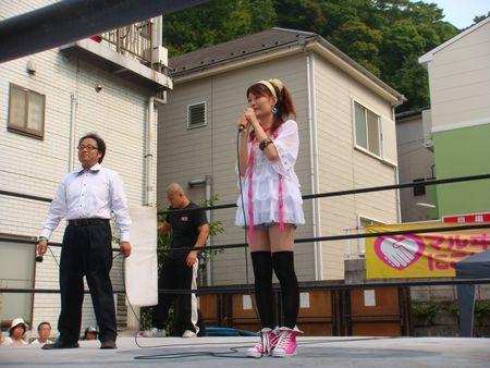 よこすか開国祭 049 ayno&沖田氏
