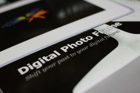 デジタルフォトフレーム。
