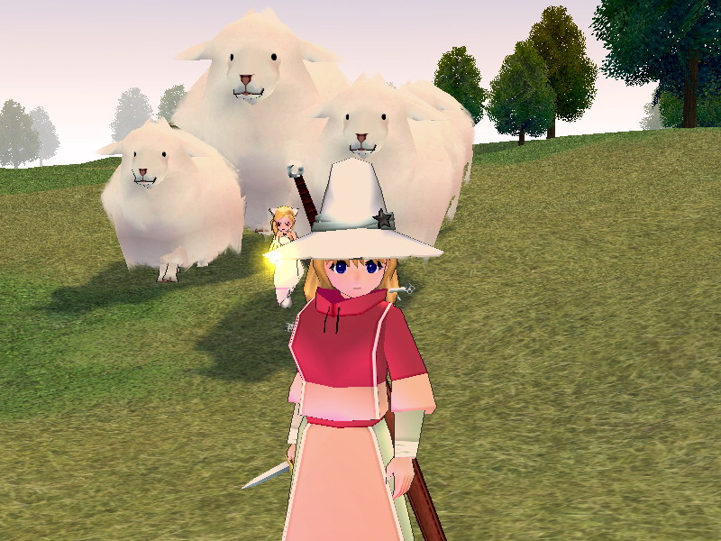 2009年4月綿飴羊さん