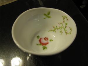 小鉢 バラ 内側