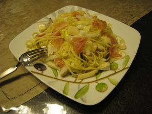 白菜パスタ