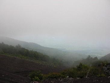 五合目富士山から
