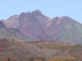 紅葉朝日岳20071028