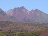 紅葉朝日岳1025