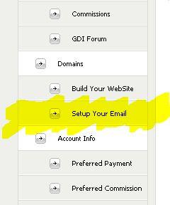 Setup Email