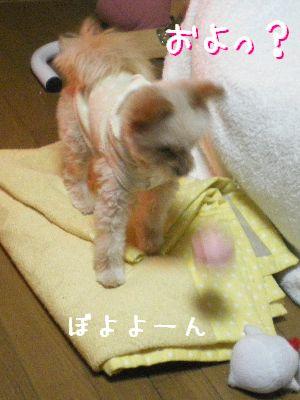 ボールの反撃