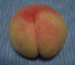 よく冷えた桃♪