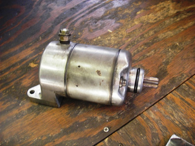 GB250 セルモーター