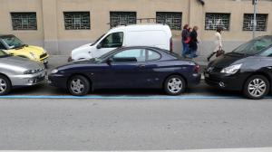 ブログ用縦列駐車