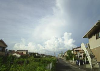 積乱雲(30%)