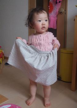 ふんわりスカート3