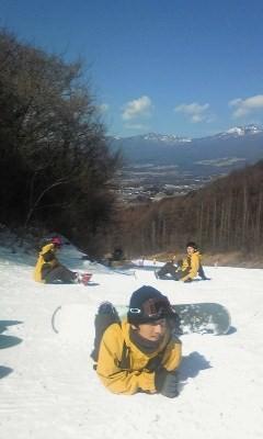 スキー場の仲間たち