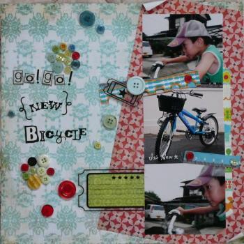 go!go! {new} bicycle