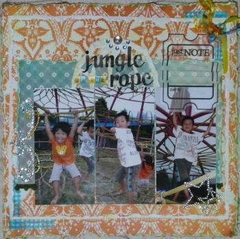 jungle og the rope
