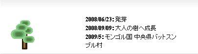 2009年5月植林予定